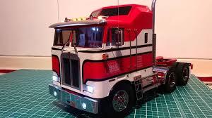 kenworth aerodyne tamiya globe liner kenworth k100 aerodyne 1 14 rc truck bj u0026 the