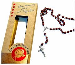 rosary from the vatican petal rosary free shipping rosaries jerusalem original