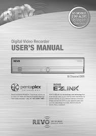 revo r16dvr4 manual
