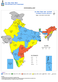 India States Map Western Disturbance To Bring Rainfall Snow In North India