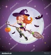 cartoon young funny cute halloween stock photo 113613703
