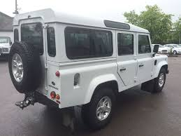 new land rover defender 110 used fuji white land rover defender for sale gloucestershire