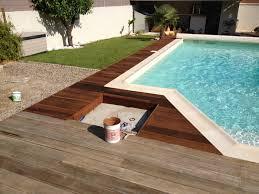 nettoyage terrasse bois composite terrasse en bois exotique bangkiraï bankirai dégrisée et