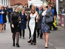 grand national girls go wild as the booze flows on ladies day at
