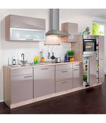 otto küche wiho küchen küchenzeile mit e geräten montana glanz breite 300