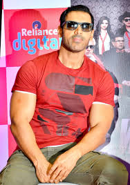 john abraham at a promotional event for u0027welcome back u0027 bollywood