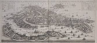 Map Of Venice Map View Of Venice Michael Jennings Antique Maps And Prints