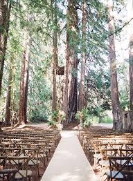 wedding in in the woods rustic wedding ceremony photographer joel serrato