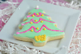 Decorated Christmas Tree Sugar Cookies by Cookies Archives Desserts By Juliette
