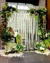 Wedding Backdrop Melbourne Gorgeous Velvet Draping With Flowers As A Wedding Ceremony