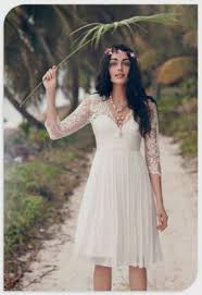 vintage lace beach wedding dresses naf dresses