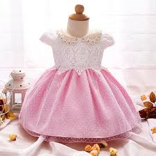2017 wholesale newborn baby christening gown lace princess