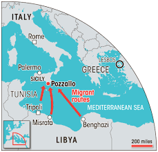 Palermo Italy Map by As 11 000 Migrants Land On Sicily They Warn Their Own Families Not