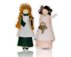of green gables clothespin doll ornament kit and