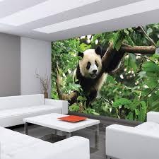kinderzimmer baum fototapete no 986 tiere tapete tier panda bär baum fell