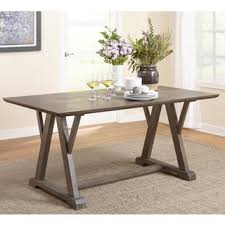 Dining Tables Grey Grey Finish Kitchen Dining Room Tables For Less Overstock