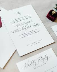 and white wedding invitations wedding invitations best ruby wedding invites trends looks