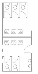 Floor Plans For Small Bathrooms Public Toilet Layout Google Search Architecture Pinterest