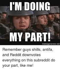 Meme Generator Reddit - i m doing my part memegeneratornet reddit meme on me me