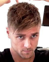 haircut styles longer on sides messy look long top short sides hair boys2men pinterest