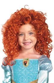 disney princess merida wig child u0027s halloween accessory walmart