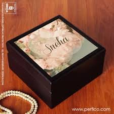 personalized photo jewelry box buy personalized jewellery box customized jewelry box perfico