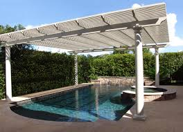 Swimming Pool Canopy by Canvas Pool Awnings Alabama Screen Enclosures U0026 Awnings Design