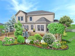 Backyard Island Ideas Landscaping Ideas For Flower Beds In The Backyard Around The