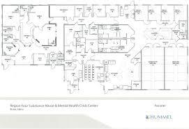 Health Center Floor Plan by Development