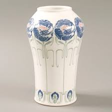 Vase French French Art Nouveau Ceramic Vase By De Feure Available Exclusively