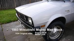 mitsubishi mighty max mini truck 1983 mitsubishi mighty max 4x4 truck for sale oregon youtube