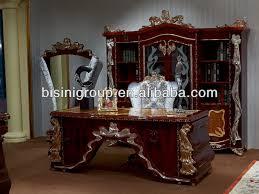 European Style Luxury Office DeskElegant Design Office Furniture - Luxury office furniture