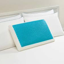 Sensorpedic Memory Foam U0026 Fiber Comfort Revolution Hydraluxe Gel Memory Foam Bed Pillow