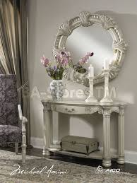 hallway table and mirror sets console table ideas mirrored console table and mirror set sale with