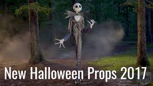 new halloween props 2017 jack skellington spirit halloween 2017