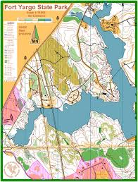 Georgia State Parks Map by Fort Yargo State Park September 12th 2010 Orienteering Map