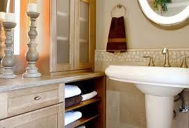 pedestal sink bathroom design ideas bathrooms modern bathroom with white pedestal sink and wood
