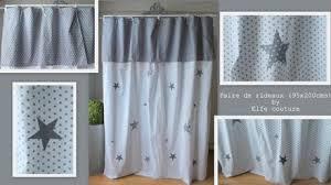rideaux pour chambre de bébé paire de rideaux étoilés pour chambre bébé enfant appliques