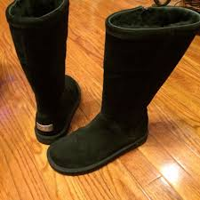 ugg boots sale genuine find more newgenuine ugg kenly 1890 boots black zip up metal