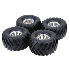 4pcs 1 10 monster truck tire tyres traxxas hsp tamiya hpi