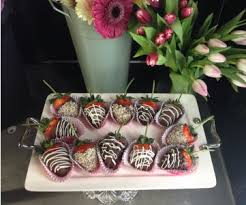 chocolate flowers stem chocolate covered strawberries delicacy in