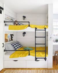 Fun Built In Bunk Bed Idea For Small Spaces Kid Spaces - Kids built in bunk beds
