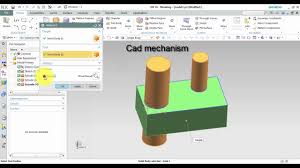 siemens nx tutorials how to use intersect command youtube
