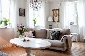 canapé marron clair design interieur salon scandinave canape marron clair table ovale