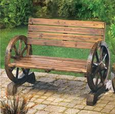 outdoor garden decor wheelbarrow garden bench wagon wheel garden bench b wagon wheel