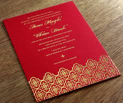 indian wedding invites indian letterpress wedding invitation gallery avani
