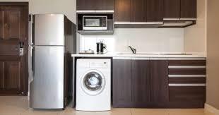 machine a laver dans la cuisine 10 astuces pour détartrer votre cuisine cuisine az