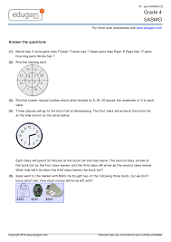 printable worksheets in math for grade 4 grade 4 sasmo printable worksheets online practice online tests