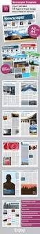 newspaper template a4 and a3 format 10 pages newsletter