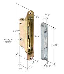 Patio Door Mortise Lock Replacement Mortise And Locks Patio Door Parts Your Best Source